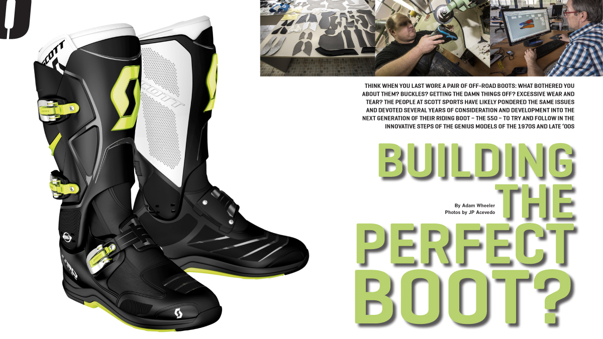 1abbcf5fed1 Building the perfect boot? – On Track Off Road Magazine