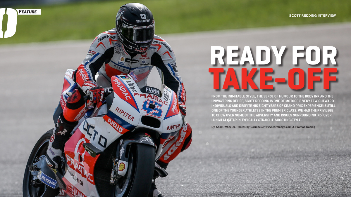 Exclusive feature interview with Scott Redding – On Track