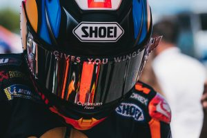 A conversation in the mind of a MotoGP racer