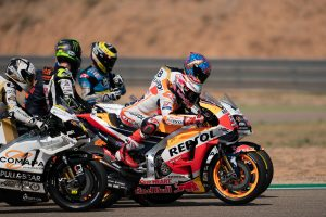 The getaway: understanding a MotoGP start